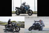 """バイクをズバっと""""言い""""斬り!/トライアンフ3車種をひと言インプレ!!の画像"""