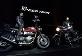 トライアンフ新型スピードツイン発表&ローンチパーティー「TRIUMPH NIGHT」の画像