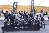 サーキット走行初心者も大歓迎!第三回「トライアンフ ライディング アカデミー(TRA)」 レポートの画像