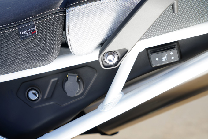 地球を相手に遊べる高いスタビリティを誇る新型タイガー900ラリープロを試乗インプレッションの画像