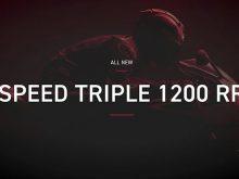 トライアンフのニューモデル「SPEED TRIPLE 1200 RR(スピードトリプル1200 RR)」のティザームービー第二弾が公開!の画像